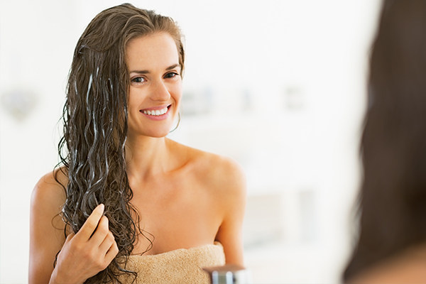 general queries about dry hair
