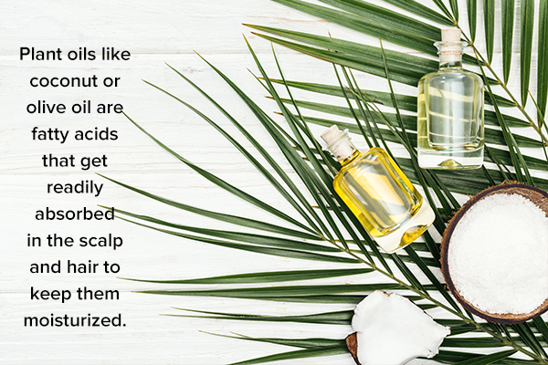 plant oils can help moisturize the skin