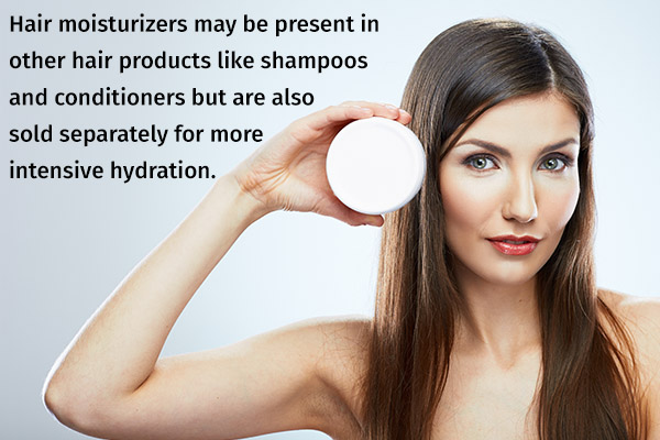 hair moisturizers for ensuring soft, silky hair