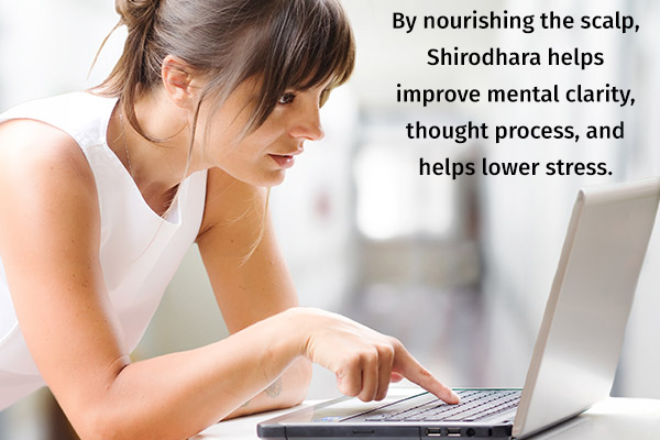 shirodhara therapy can help improve your concentration