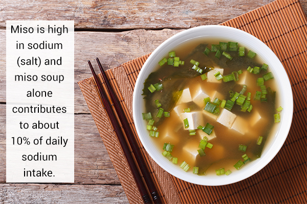 possible side effects and risks of miso consumption