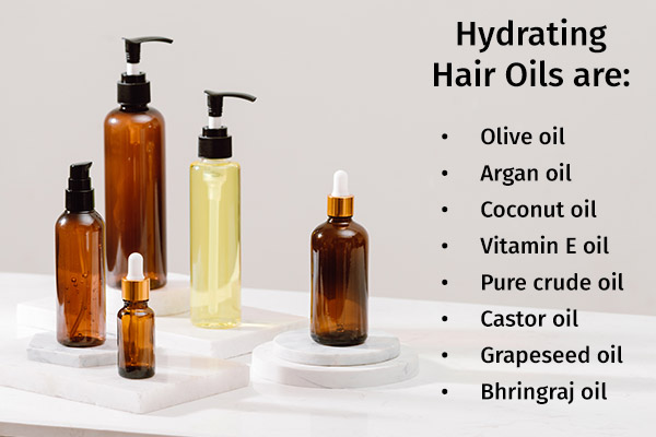 hydrating hair oils for smooth and soft tresses