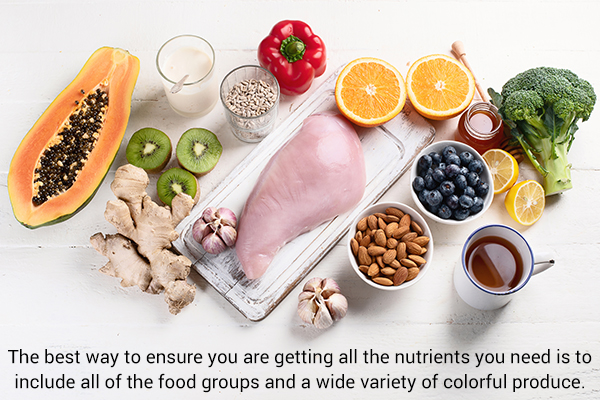 foods that help in boosting immunity