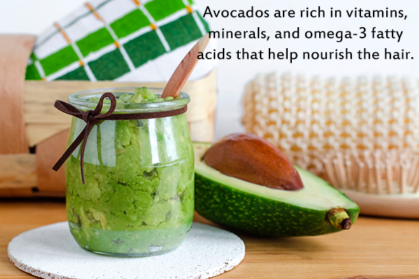 avocados can help nourish your hair