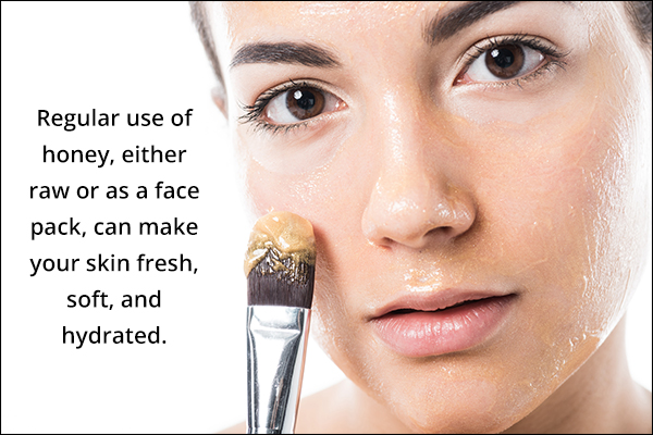 honey can help provide deep moisturization to your skin