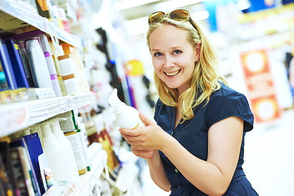 carefully select your skin care products