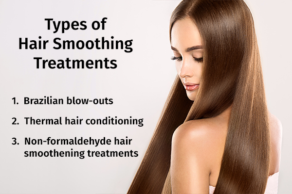 types of hair smoothing treatments
