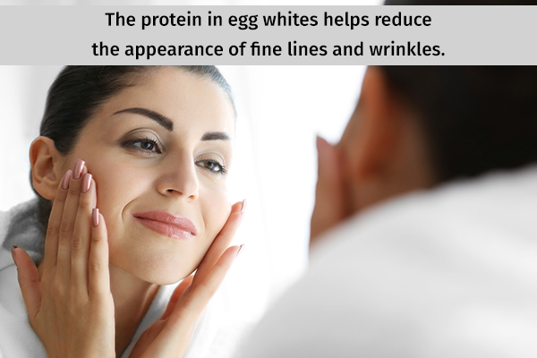 egg whites can help reverse effects of aging
