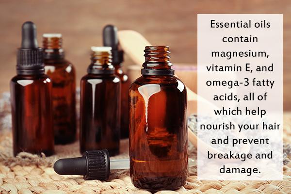 essential oils can help prevent hair breakage