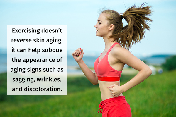 exercising regularly can help delay aging signs