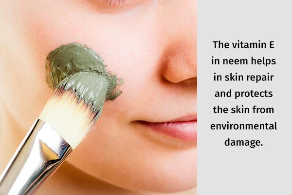 neem can relieve skin dryness
