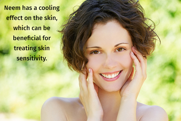 Neem has a cooling effect on the skin