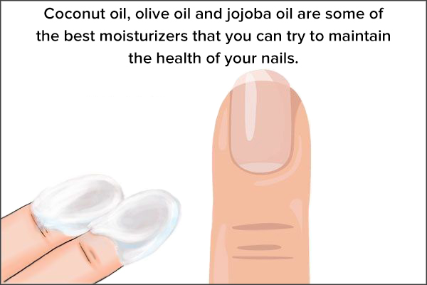 keep your nails properly moisturized